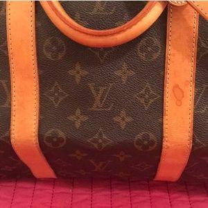 9816bd185c Louis Vuitton Bags - Authentic LV Duffle Bag Keepall 55